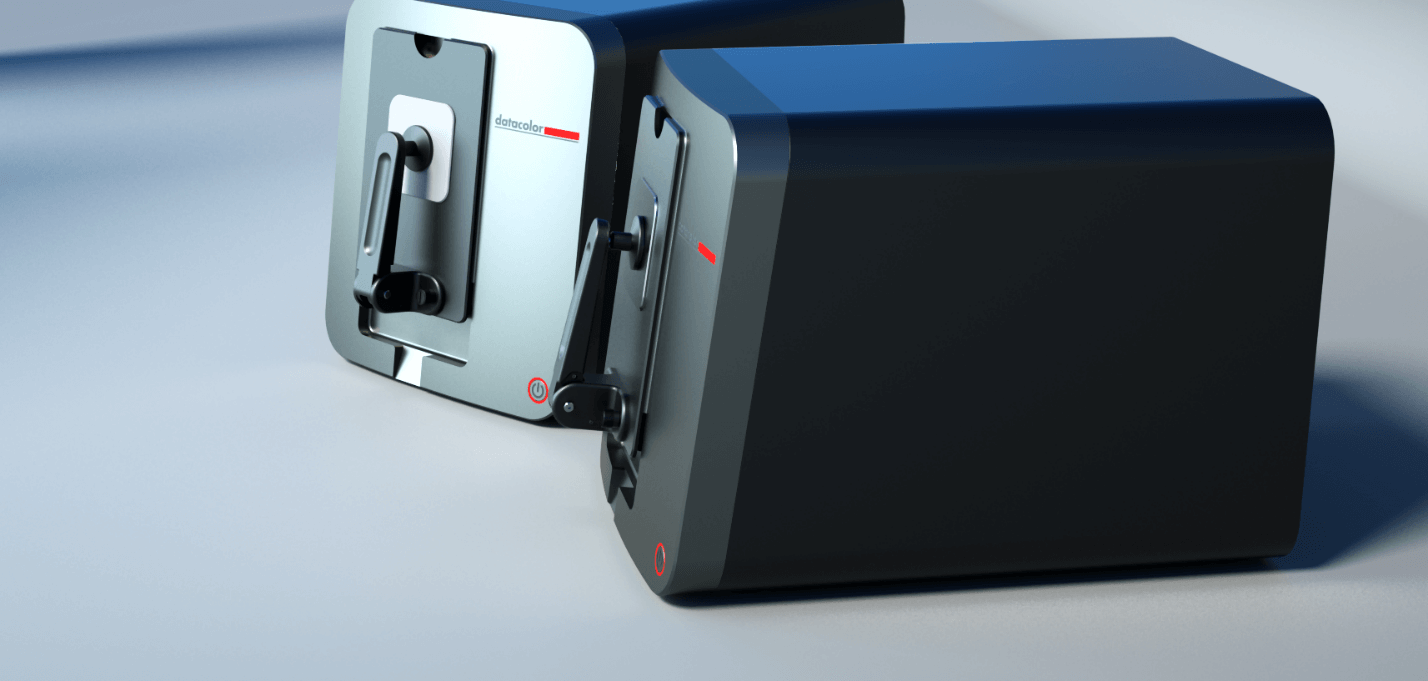 Rendering of 2 precision color measurement device designed by Zaic Design