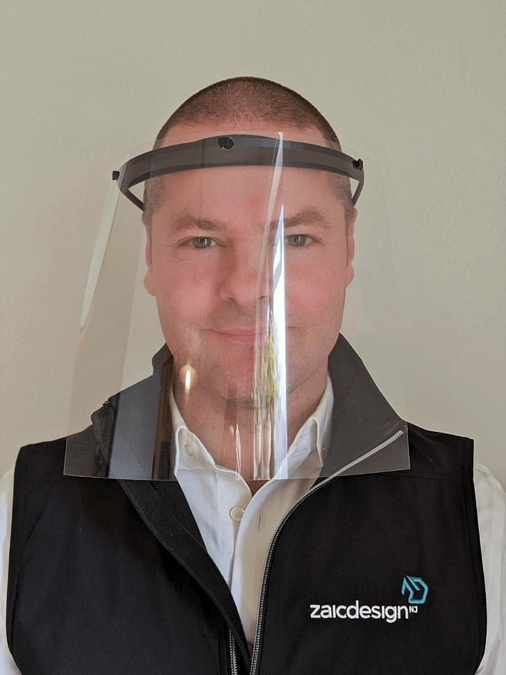 Zaic Design 3d printed Face Shield